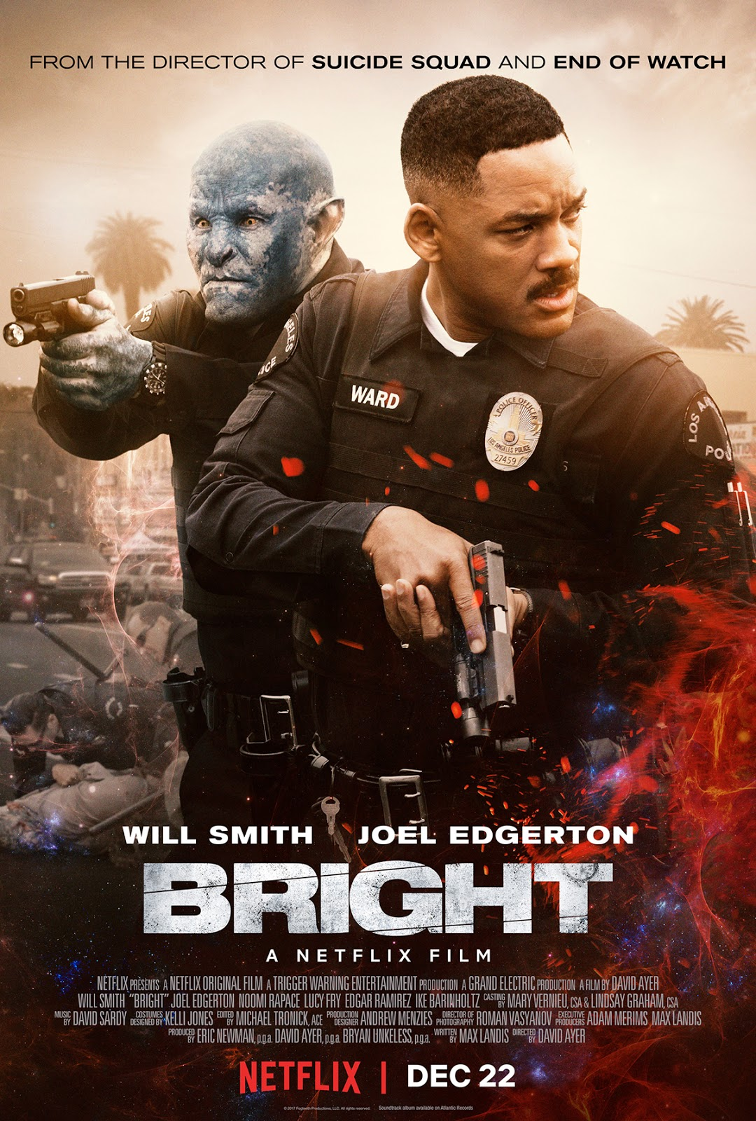 Bright (2017) ταινιες online seires oipeirates greek subs