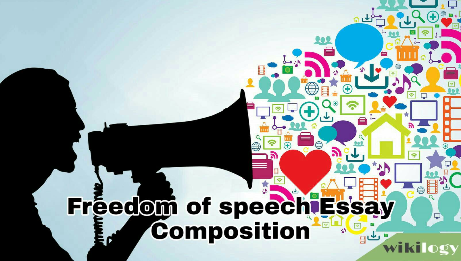Freedom of speech Essay Composition