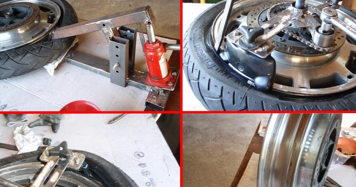 voyages moto de jean louis changer ses pneus moto d montage montage quilibrage les. Black Bedroom Furniture Sets. Home Design Ideas