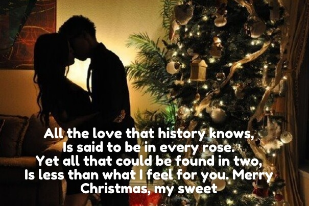 merry christmas quotes for love