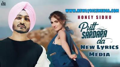 PUTT SARDARA DA LYRICS – Honey Sidhu   New Lyrics Media