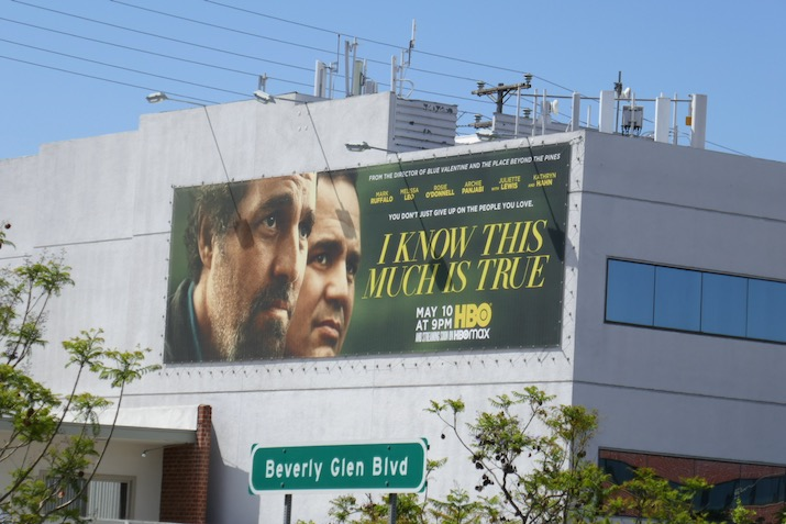 I Know This Much Is True series launch billboard
