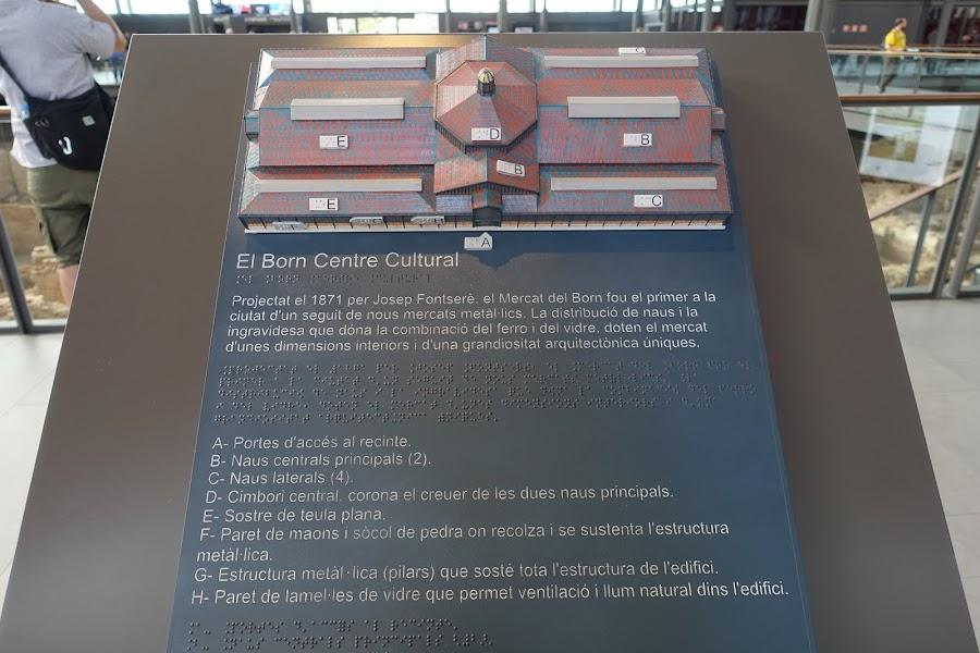 ボルンカルチャーセンター(El Born Centre Cultural・Mercat del Born)