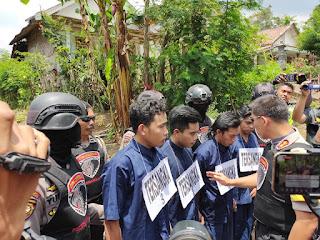 Tim Cobra Polres Lumajang Tangkap 4 Perampok di Gucialit