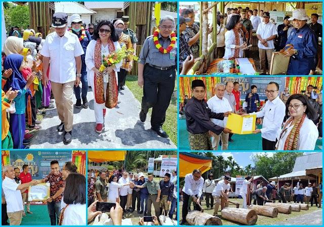 """Wabup Meranti H.Said Hasyim Hadiri Acara Festival Sagu Nusantara, """" Lestarikan Peradaban Ekologi Sagu di Bumi Meranti"""""""