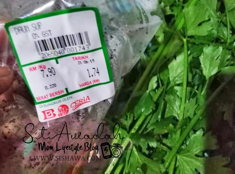 khasiat daun sup