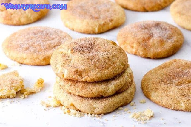 Soft and Easy Snickerdoodle Cookies Recipe