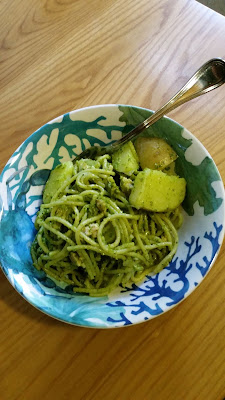 Popeye Pesto, As part of our December blitz here at OurSundayCafe.