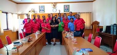Santy Sastra Berikan Training Refleksi Akhir Tahun 2019 Kepada Manajemen Perumda Pasar Mangu Giri Sedana, Mengwi - Badung
