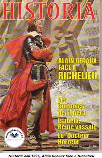 Revue Historia, 338 1975, le docteur horreur