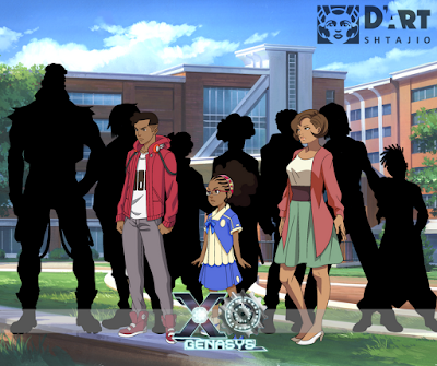 XOGenaSYS Anime Poster