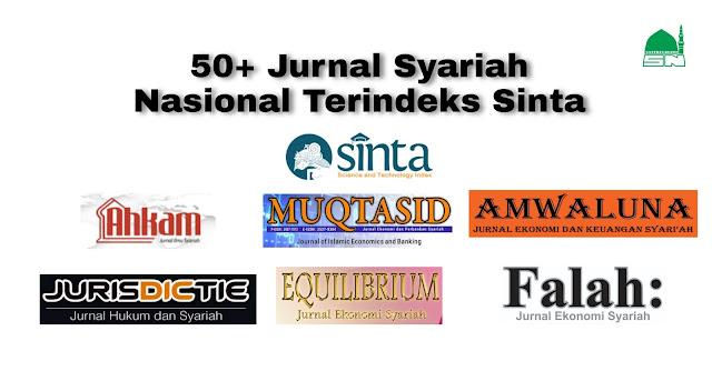 50+ Jurnal Syariah Nasional Terindeks Sinta (Bahasa, Jumlah Kata, Jadwal Terbit dan Biaya)