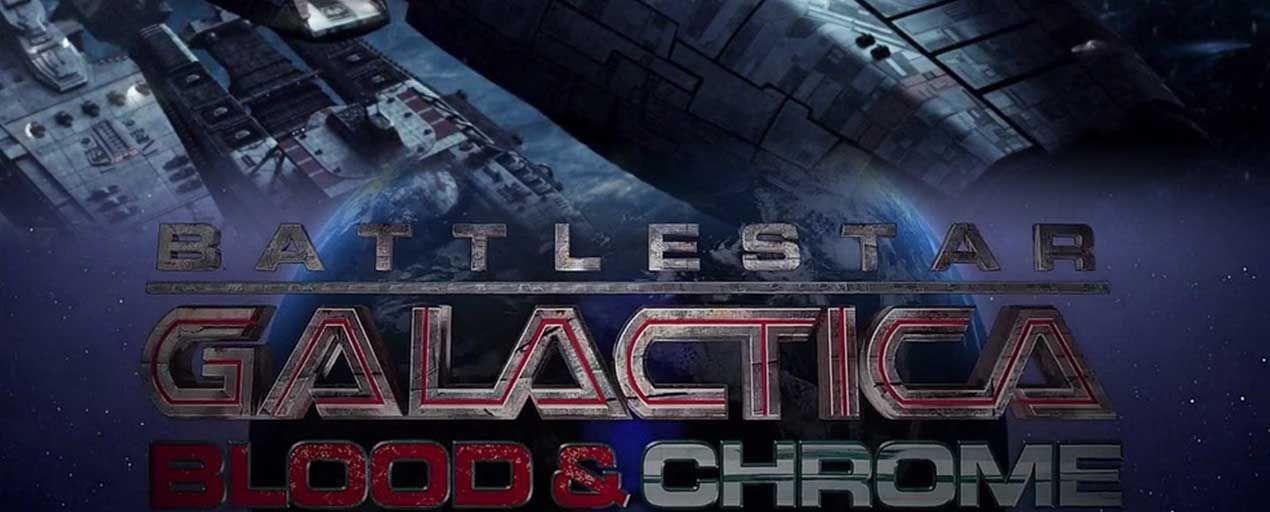Ngân Hà Đại Chiến - Battlestar Galactica: Blood & Chrome (2012)