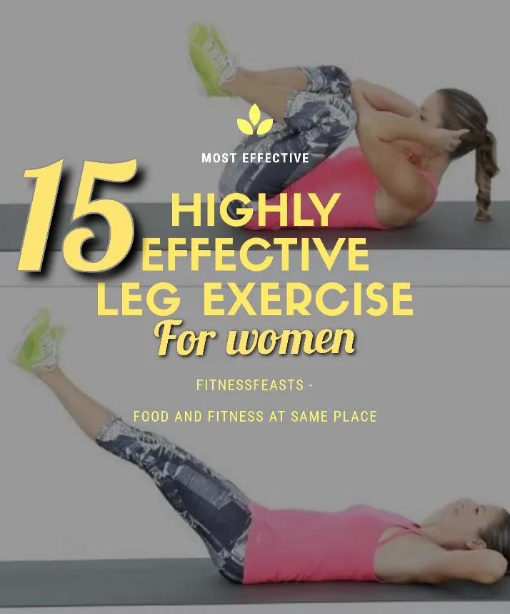 15 leg exercises for women