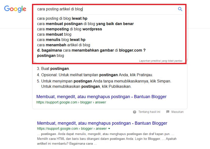 Cara Posting Artikel Blog Yang Benar Supaya Cepat Terindex Google Go Blogger Jpr
