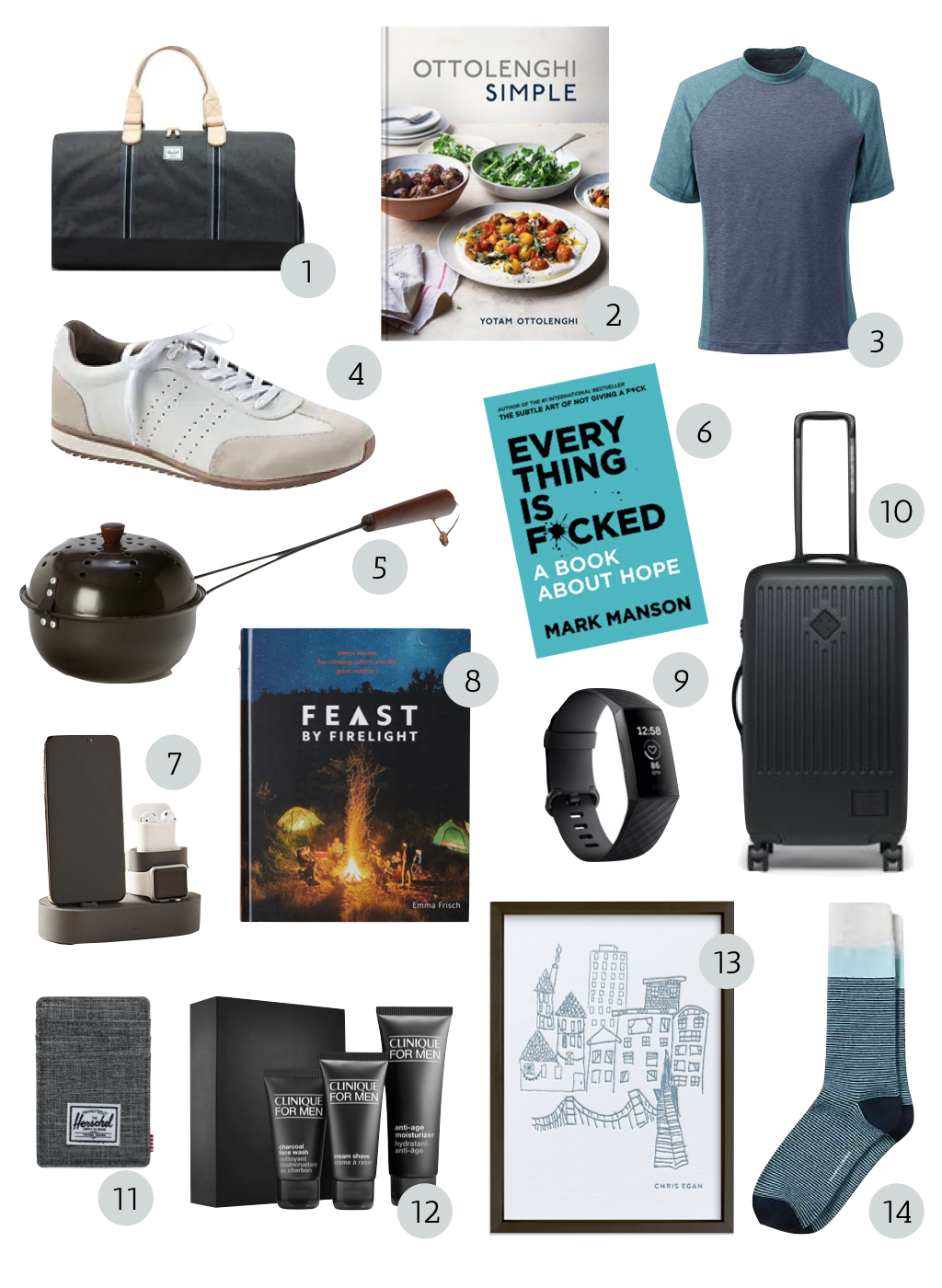 father's day gifts, gifts for the cook, gifts for the active dad