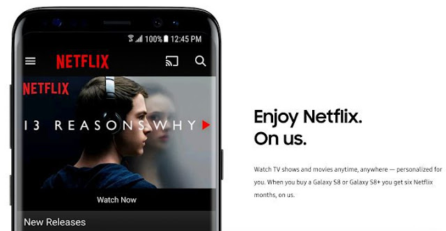 Download Netflix Movies App for Samsung Galaxy S7 Edge / S8 Plus