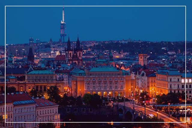 Imagem da cidade de Praga, República Tcheca, onde se passa a maior parte da história de Utz, livro de Bruce Chatwin.