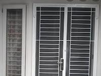 Model Tralis pintu dan jendela Model minimalis