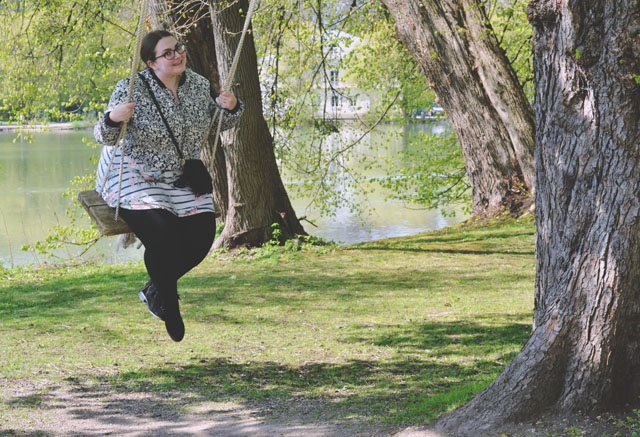 Swing on Tree