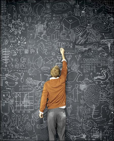 Blackboard Artwork Ideas: Lamb & Blonde: Room Love: Blackboard Walls