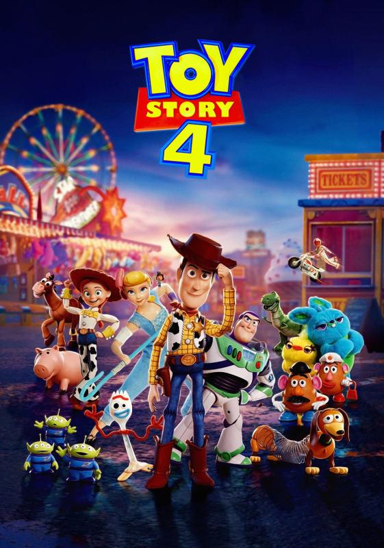 Toy Story 4 [2019] [CUSTOM HD] [DVDR] [NTSC] [Latino] [V2]