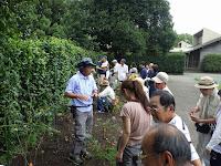 みどりの講座「庭で育てる秋のバラ管理」