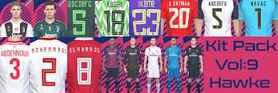 PES 2018 Kitpack v9 Season 2018/2019 by Hawke