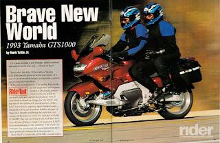 GTS spread - Rodando com a GTS1000
