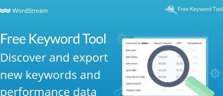 wordstream free keyword tool