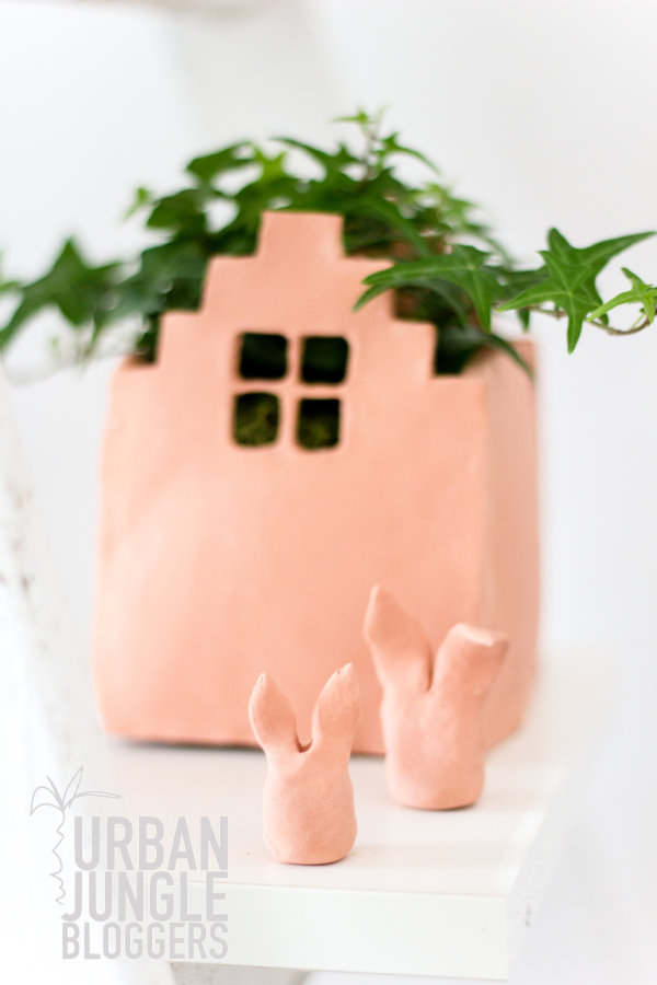 Urban Jungle Bloggers: happy green easter - DIY Deko