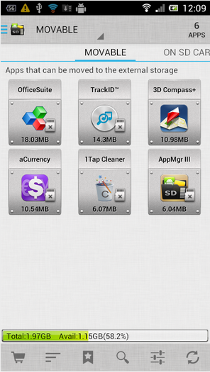 AppMgr III (App 2 SD) - or how to move your installed apps to a microSD card