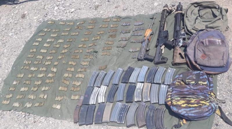 Aseguran SSP, Sedena y GN fusiles y más de mil cartuchos útiles