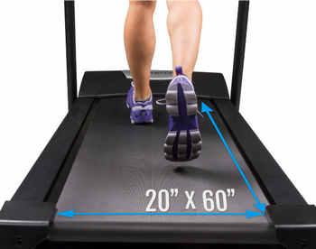 XTERRA Fitness TR600 Tread Belt Size