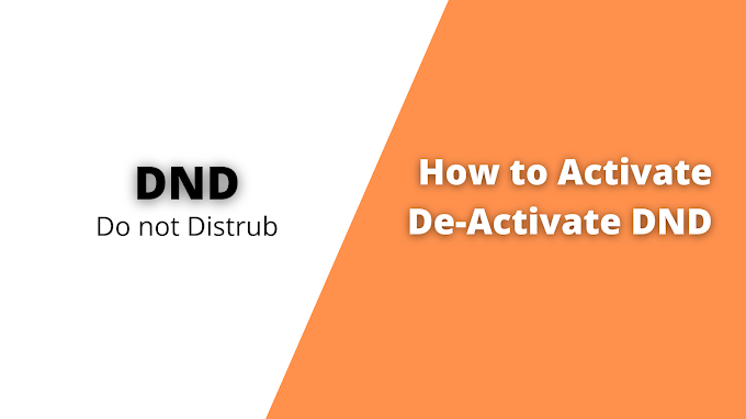What IS DND? How to Activate and De-activate into your phone number
