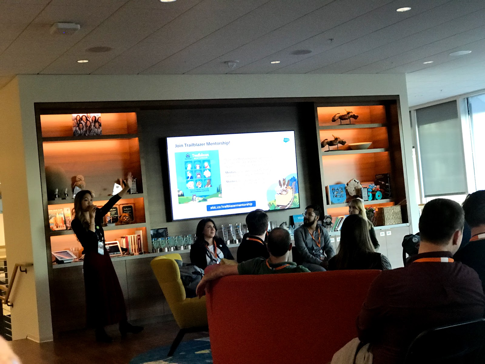 Tigh Loughhead at the Dreamforce Career Readiness event in San Francisco