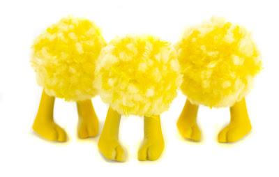 Boki Bloom Yellow Edition Resin Figure by Sarah Booz x Kyle Kirwan