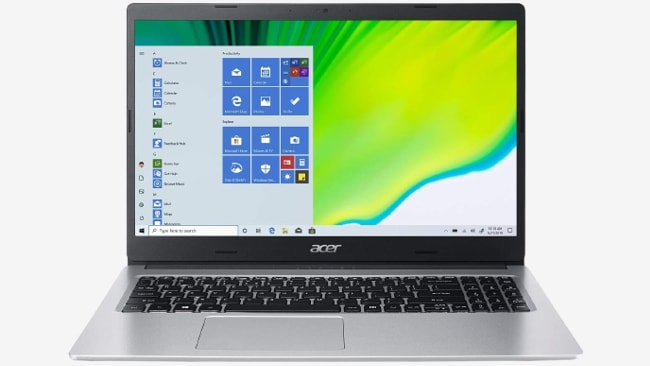 Acer Aspire 3 A315 laptop under ₹50,000 in India