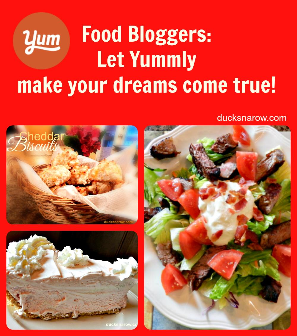 Yummly - A Food Blogger's Dream Come True! - Ducks 'n a Row