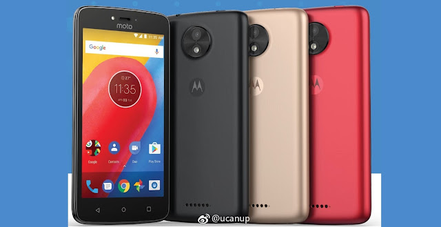Here's the Motorola Moto C in Different Colors