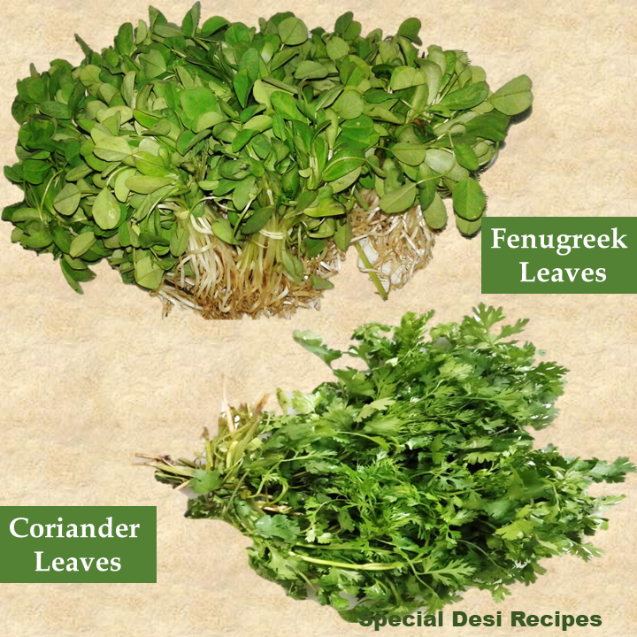 green leaves special desi recipes
