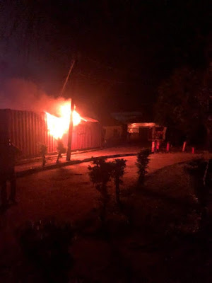 How Smart Card Readers Were Destroyed In Ondo INEC headquarters Fire