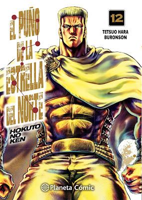 Reseña de El Puño de la Estrella del Norte (Hokuto no Ken) vols. 11 y 12 de Buronson y Tetsuo Hara.