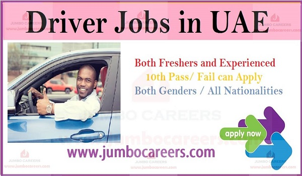 Urgent driver jobs in UAE, Driver job description 2019,