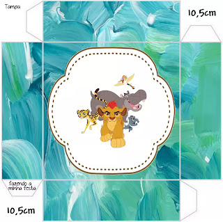 The Lion Guard: Free Printable Boxes.
