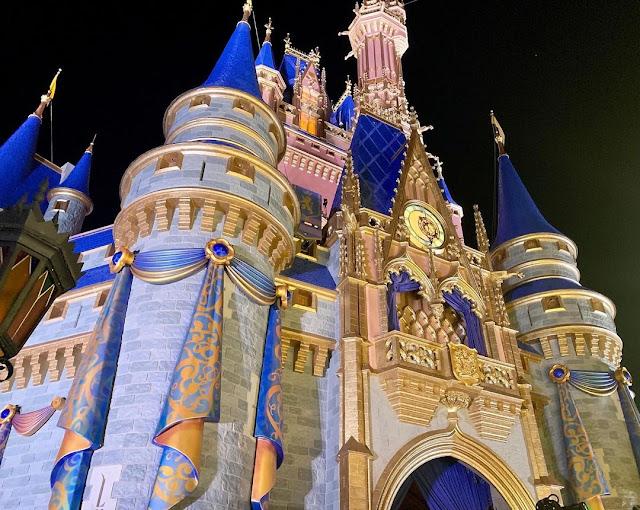 DisneyWorld50-Final-Bunting-Added-to-the-Cinderella-Castle