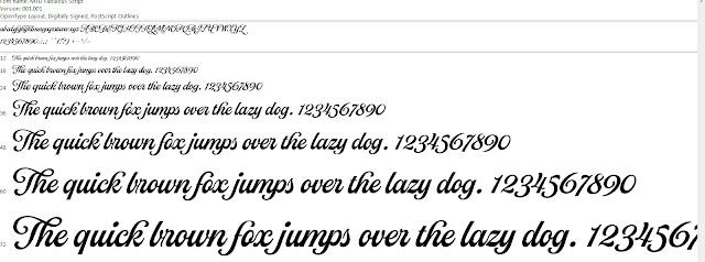 Download fonts việt hóa MTD Fabulous Script