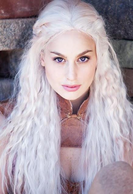Meagan Marie khaleesi juego de tronos