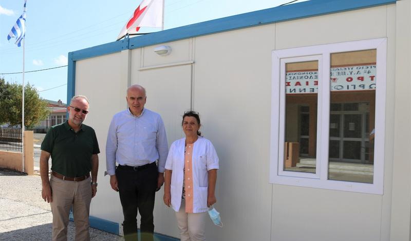 Με οικίσκους isobox εξοπλίζονται το Νοσοκομείο Κομοτηνής και τα Κέντρα Υγείας Σαπών και Σαμοθράκης