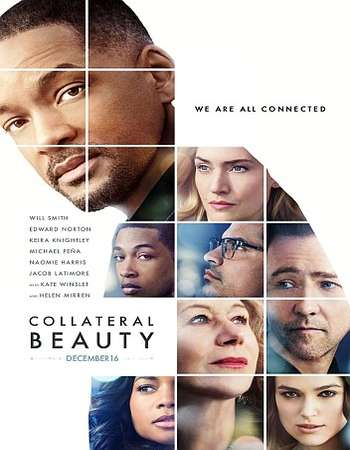 Poster Of Collateral Beauty 2016 English 700MB HDCAM x264 Free Download Watch Online downloadhub.net